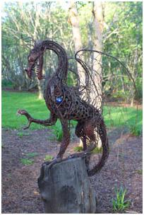 Mythic Garden Chagford Devon