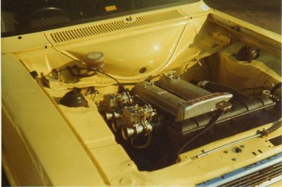 Lotus Twin Cam in the Escort