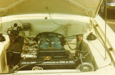MKI RS1600 Engine Bay